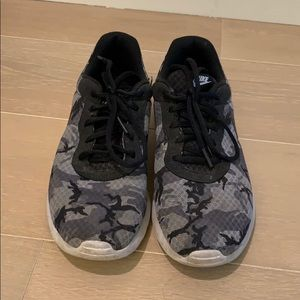 Camouflage Nike sneakers